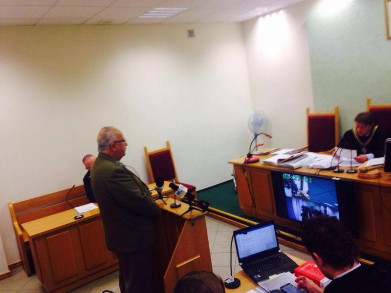 Trial of activists in the court in Hajnowka
