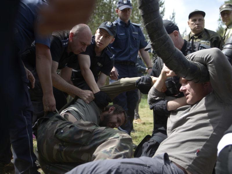 Interrogations and legal procedures against activistists
