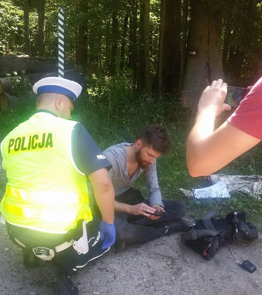 Journalist attacked by loggers in the Forest