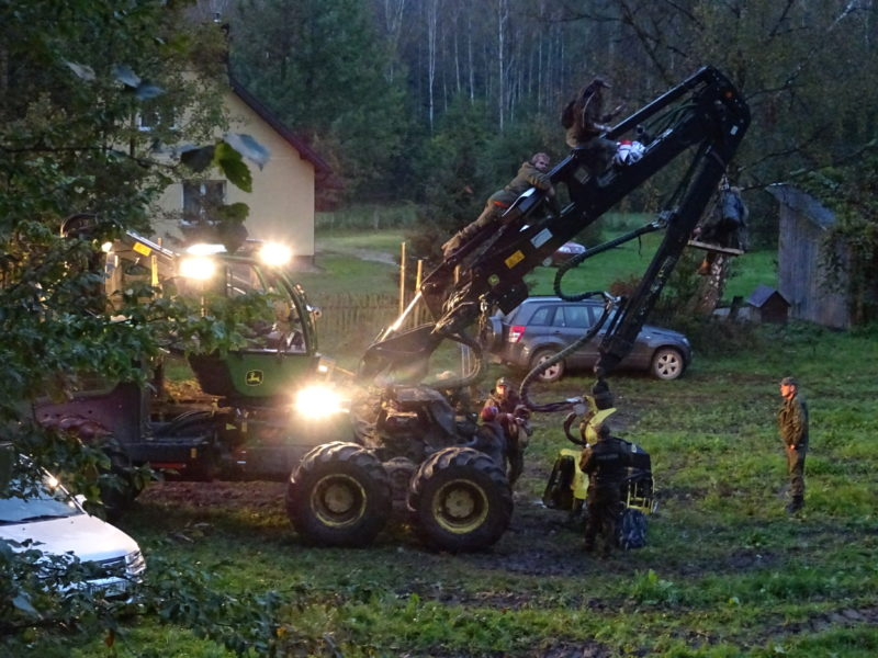 Mass action in the Bialowieza Forest – three blockades at the same time